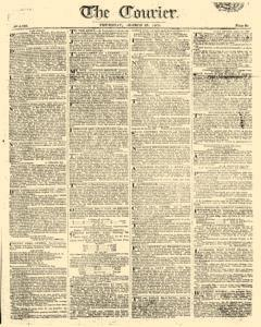 Courier, March 23, 1809, Page 1