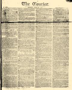 Courier, July 18, 1809, Page 1