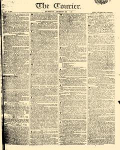 Courier, August 22, 1809, Page 1