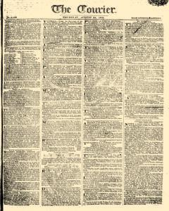 Courier, August 24, 1809, Page 1
