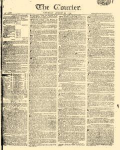 Courier, August 26, 1809, Page 1