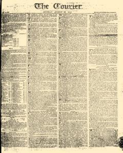 Courier, August 28, 1809, Page 1