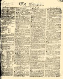Courier, August 31, 1809, Page 1