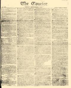 Courier, September 01, 1809, Page 1