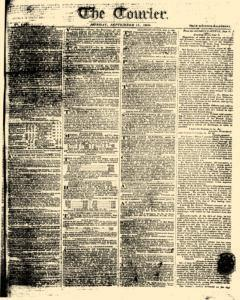 Courier, September 11, 1809, Page 1