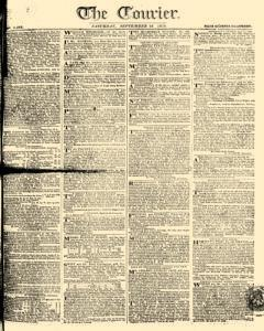 Courier, September 16, 1809, Page 1