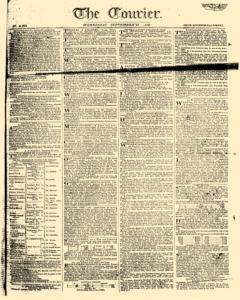 Courier, September 27, 1809, Page 1