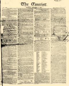 Courier, October 02, 1809, Page 1