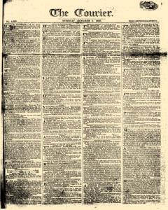 Courier, October 03, 1809, Page 1