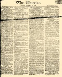 Courier, October 10, 1809, Page 1