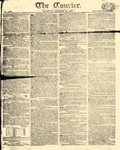 Courier, October 12, 1809, Page 1