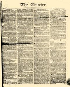 Courier, October 24, 1809, Page 1
