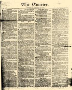 Courier, October 26, 1809, Page 1