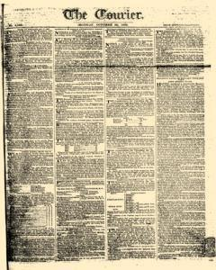 Courier, October 30, 1809, Page 1