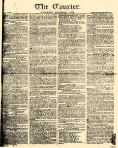Courier, November 01, 1809, Page 1