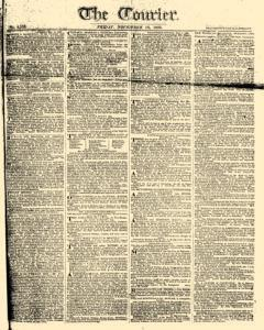 Courier, November 10, 1809, Page 1