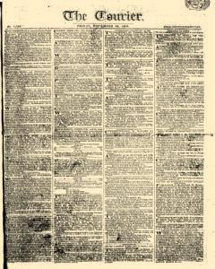 Courier, November 24, 1809, Page 1