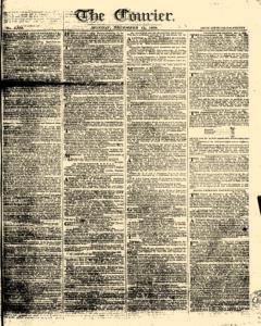 Courier, December 11, 1809, Page 1