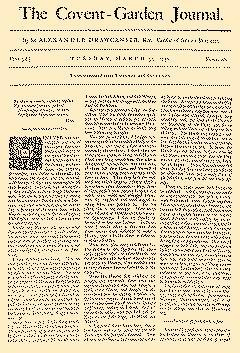 Covent Garden Journal, March 31, 1752, Page 1