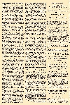 Covent Garden Journal, July 25, 1752, Page 1