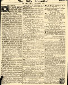 Daily Advertiser, January 06, 1743, Page 1