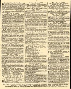 Daily Advertiser, January 10, 1743, p. 4