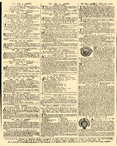 Daily Advertiser, January 12, 1743, Page 4