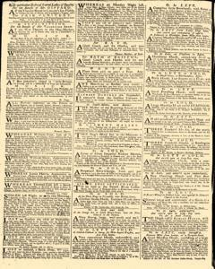 Daily Advertiser, February 18, 1743, p. 2