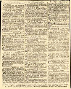 Daily Advertiser, March 11, 1743, Page 4