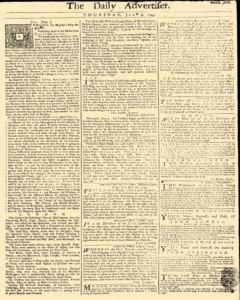 Daily Advertiser, June 09, 1743, Page 1