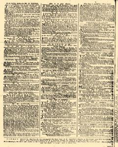 Daily Advertiser, January 24, 1749, p. 4