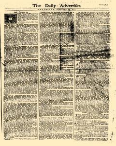 Daily Advertiser, February 25, 1749, Page 1