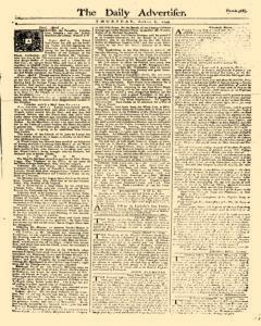 Daily Advertiser, April 06, 1749, Page 1