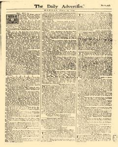 Daily Advertiser, April 17, 1749, Page 1
