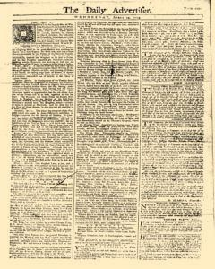Daily Advertiser, April 19, 1749, Page 1