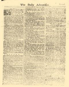 Daily Advertiser, May 06, 1749, Page 1