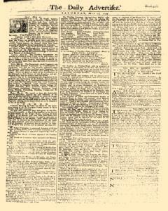 Daily Advertiser, May 13, 1749, Page 1