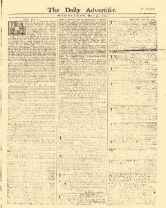Daily Advertiser, May 17, 1749, Page 1