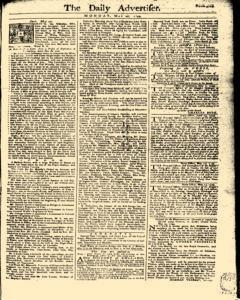 Daily Advertiser, May 22, 1749, Page 1