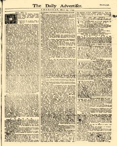 Daily Advertiser, May 25, 1749, Page 1