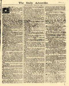 Daily Advertiser, June 19, 1749, Page 1