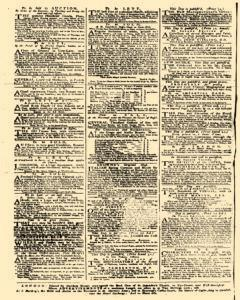 Daily Advertiser, July 13, 1749, Page 4