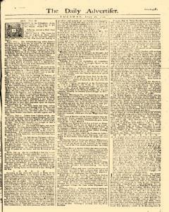 Daily Advertiser, July 18, 1749, Page 1