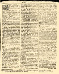 Daily Advertiser, July 31, 1749, Page 1