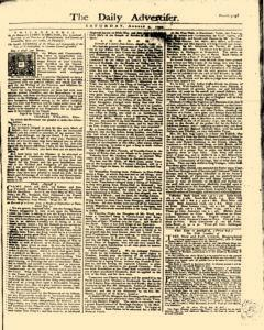 Daily Advertiser, August 05, 1749, Page 1