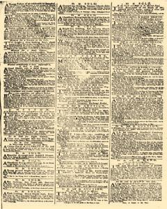 Daily Advertiser, September 13, 1749, p. 3