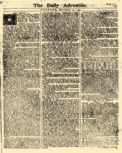 Daily Advertiser, September 19, 1749, Page 1