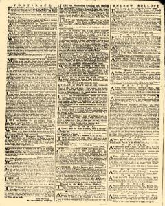 Daily Advertiser, October 20, 1749, p. 2