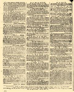Daily Advertiser, October 24, 1749, p. 4