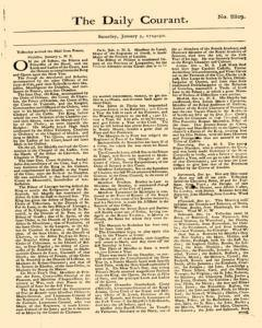 Daily Courant, January 03, 1730, Page 1